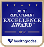 Heathgrades 2019 Joint Replacement Excellence Award
