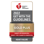 American Stroke Association's Get With The Guidelines® — Heart Failure Gold Plus Quality Achievement Award.