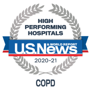 US News - High Performing Hospitals, COPD