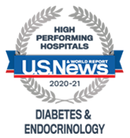 US News - High Performing Hospitals, Diabetes & Endocrinolog