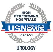US News - High Performing Hospitals, Urology