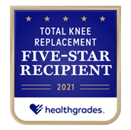 Healthgrades 5-Star Total Knee Award