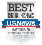 "US News & World Report's 2019-2020 ""Best Hospitals"" issue as a Best Regional Hospital"