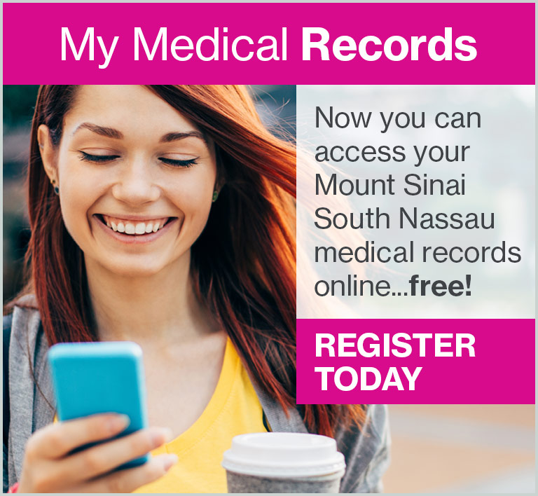 Mount Sinai South Nassau - My Medical Records