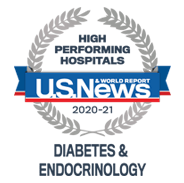 US News - High Performing Hospitasl, Diabetes & Endocrinology